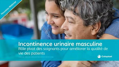 <b>Incontinence urinaire masculine. Rôle pivot des soignants pour améliorer la qualité de vie des patients</b>