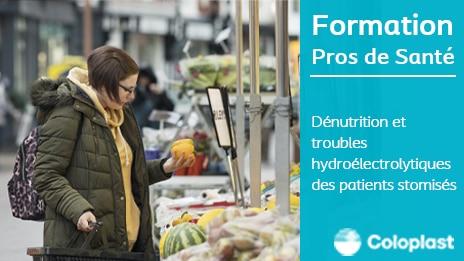<b>Dénutrition et troubles hydroélectrolytiques des patients stomisés</b>